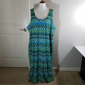 Avenue Maxi lace overlay dress Plus Size 30/32
